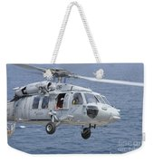 An Mh-60s Sea Hawk Search And Rescue Weekender Tote Bag