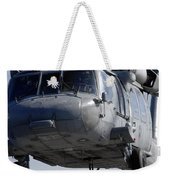 An Mh-60s Seahawk Delivers A Pallet Weekender Tote Bag