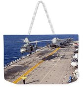 An Mh-60s Seahawk Helicopter Prepares Weekender Tote Bag