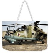 An Mi-24 Russian Helicopter Weekender Tote Bag