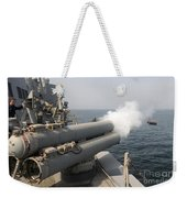 An Mk-46 Recoverable Exercise Torpedo Weekender Tote Bag