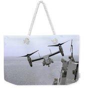 An Mv-22b Osprey Takes Weekender Tote Bag