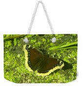 An October Butterfly  Weekender Tote Bag