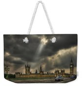 An Ode To England Weekender Tote Bag