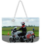 An Officer Of The Military Police Weekender Tote Bag