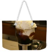 An Old-fashioned Ice Cream Soda Awaits Weekender Tote Bag