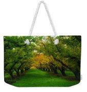 An Orchard Row  Weekender Tote Bag