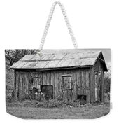 An Orderly World Monochrome Weekender Tote Bag