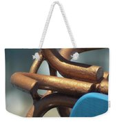 Anchored Down Weekender Tote Bag