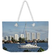 Anchored On Maule Lake Weekender Tote Bag