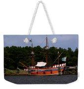 Anchored Ship Weekender Tote Bag