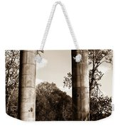 Ancient Columns By The River Weekender Tote Bag