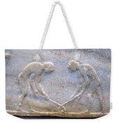 Ancient Hockey Weekender Tote Bag