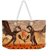 Ancient Lava Dragons Born Of Fire Weekender Tote Bag