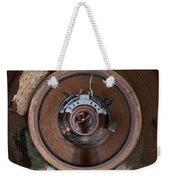 And Everything Will Be Measured By The Weight Weekender Tote Bag