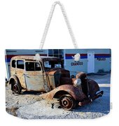 ...and Rotate The Tires Weekender Tote Bag