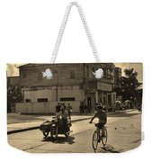 And The Bicycle Wins Weekender Tote Bag