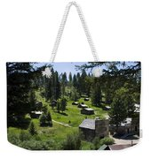 And There You Find Garnet Ghost Town Weekender Tote Bag