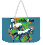 Andalusian Weekender Tote Bag