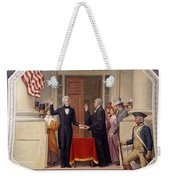Andrew Jackson At The First Capitol Inauguration - C 1829 Weekender Tote Bag