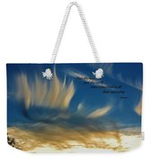 Angel Clouds Weekender Tote Bag
