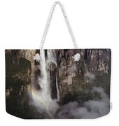 Angel Falls, With Plane For Scale Weekender Tote Bag