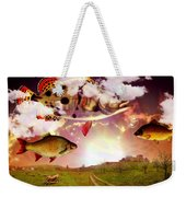 Angel Fish Weekender Tote Bag