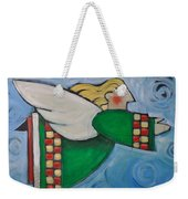 Angel Flight Weekender Tote Bag