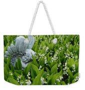 Angel In The Lilies Weekender Tote Bag