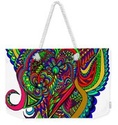 Angel Weekender Tote Bag by Karen Elzinga