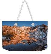 Angel Lake Alpenglow Weekender Tote Bag