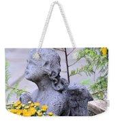Angel Of The Garden Weekender Tote Bag