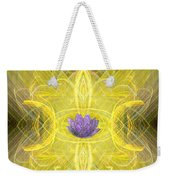 Angel Of The Moon Weekender Tote Bag