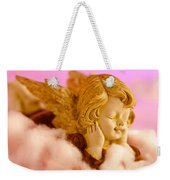 Angel Resting On Clouds And Enjoying The Sun Weekender Tote Bag