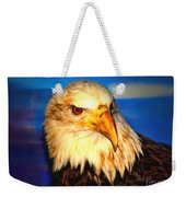 Angel The Bald Eagle Weekender Tote Bag
