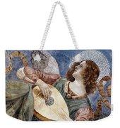 Angel With A Lute Weekender Tote Bag