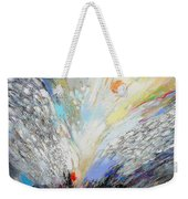 Angels Presence  - Square Painting Weekender Tote Bag