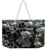 Angry Bubble Mob Weekender Tote Bag