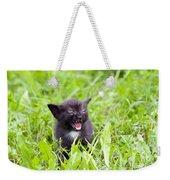 Angry Kitten Weekender Tote Bag