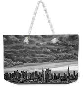 Angry Skies Over Nyc Weekender Tote Bag
