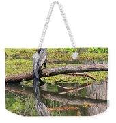 Anhinga And Reflection Weekender Tote Bag