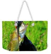 Anhinga And The Fish Weekender Tote Bag