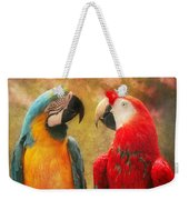 Animal - Parrot - We'll Always Have Parrots Weekender Tote Bag