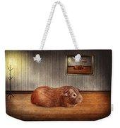 Animal - The Guinea Pig Weekender Tote Bag by Mike Savad