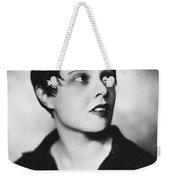 Anita Loos (1893-1981) Weekender Tote Bag
