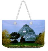 Anna Scripps Whitcomb Conservatory Weekender Tote Bag
