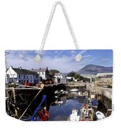 Annalong Harbour, Near Mountains Of Weekender Tote Bag