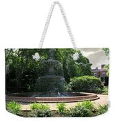Annapolis Fountain Weekender Tote Bag
