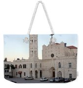 Annunciation Latin Church In Beit Jala Weekender Tote Bag