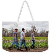 Another Cotton Pickin' Day Weekender Tote Bag